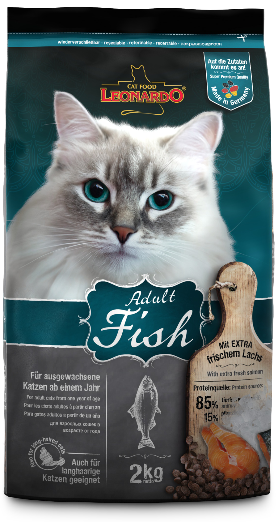 Leonardo-Adult-Fisch-2kg-front